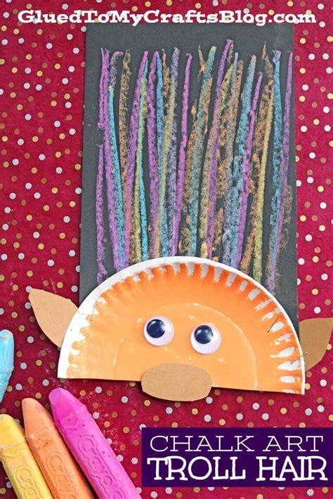 Paper Plate Troll Craft DLTK Kids