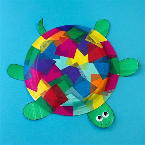 Paperplate Turtle Fun and Easy Crafts for Kids