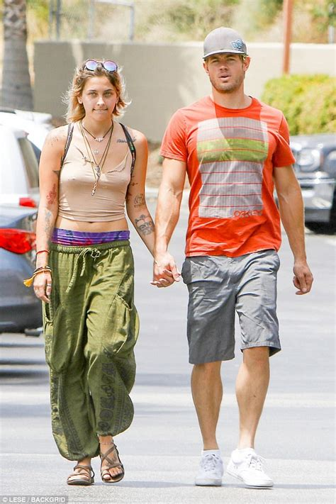 Paris Jackson holds hands with 90210 s Trevor Donovan