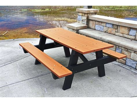 Park Benches Picnic Tables Outdoor Recycled Plastic