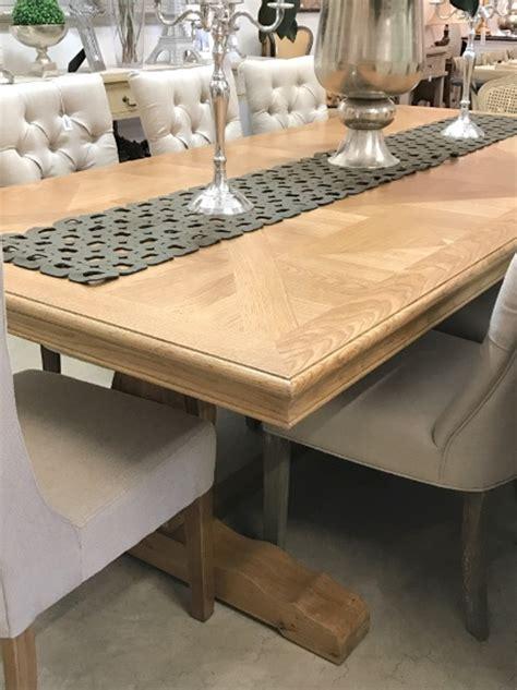 Parquet Trestle Dining Table 260cm Maison Living