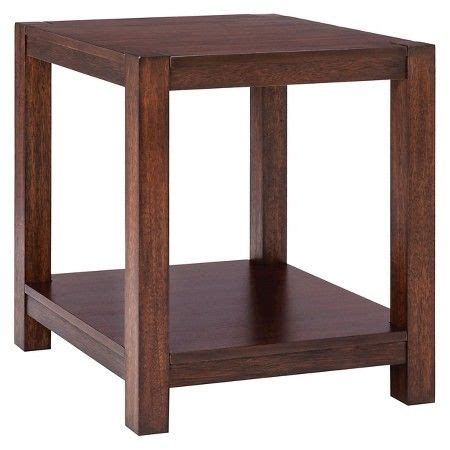 Parsons End Table with Shelf Threshold Target