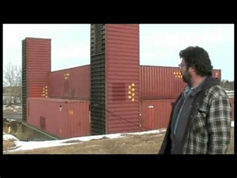 Part 1 Man building amazing home with shipping containers