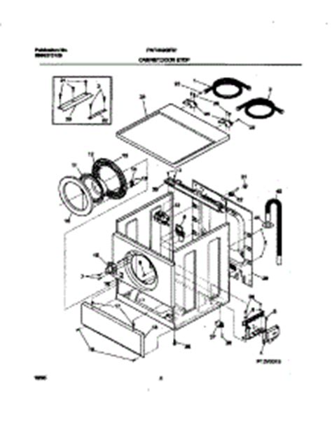 Parts for Frigidaire FWT449GFS1 Washer