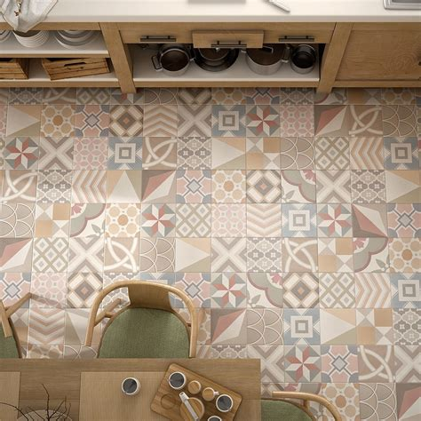 Patchwork and Patterned Tiles Tileflair Tiles UK