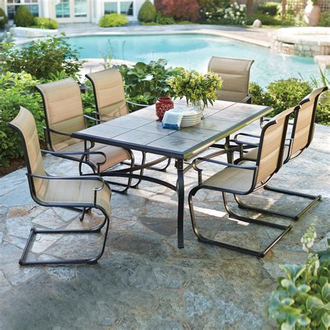 Patio Dining Furniture The Home Depot