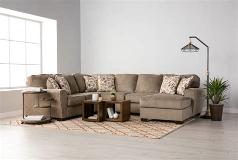 Patola Park 4 Piece Sectional W Raf Corner Chaise Living