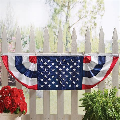 Patriotic American Flag Bunting from Collections Etc