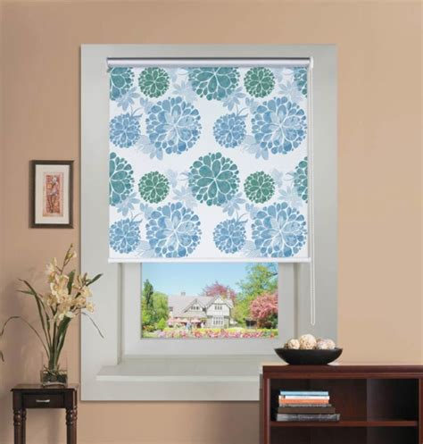 Pattern Roller Blinds Patterned Roller Window Blinds