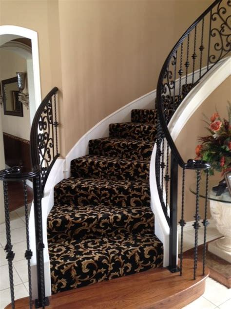 Patterned Carpet On Stairs The Floor Pro Community