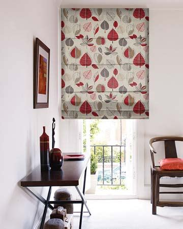 Patterned Roman Blinds Online Blinds UK