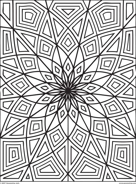 Patterns and Coloring Pages page 1 abcteach