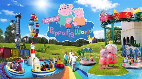 Paultons Park and Peppa Pig World Ticket and Hotel Deals