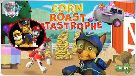 Paw Patrol Game Corn Roast Catastrophie Nick JR English