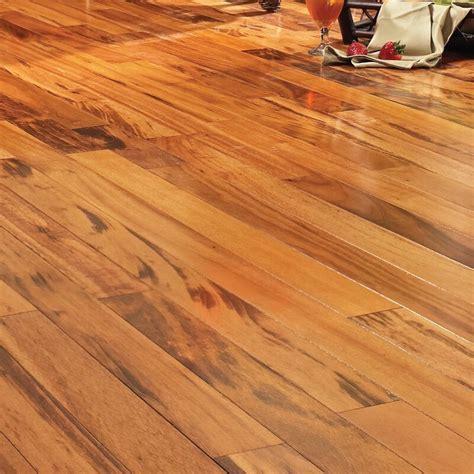 Pecan Tigerwood Engineered Hardwood Flooring Wayfair