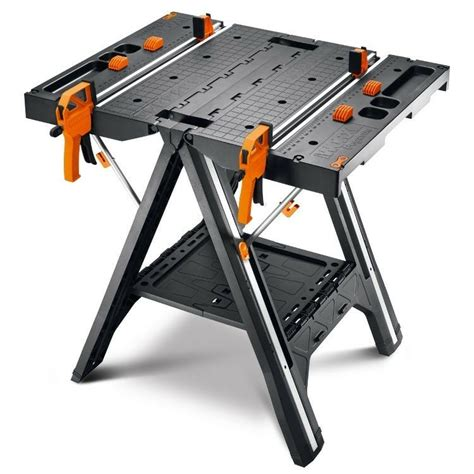 Pegasus Folding Work Table Sawhorse WX051 WORX