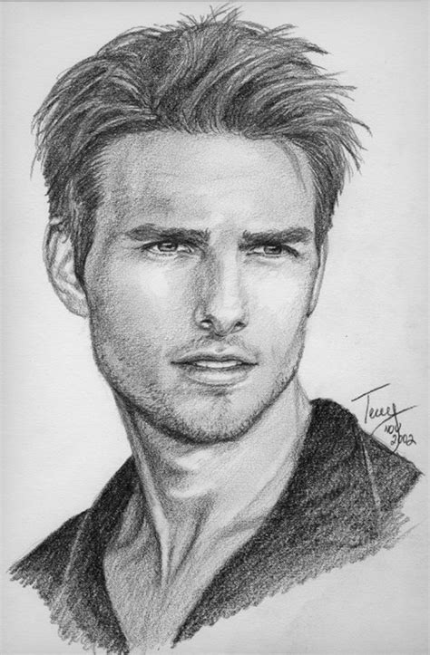Pencil Portraits Sketches Pencil Drawings Of People And