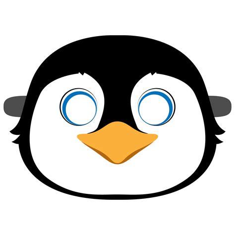 Penguin Mask Free Printable Paper Craft
