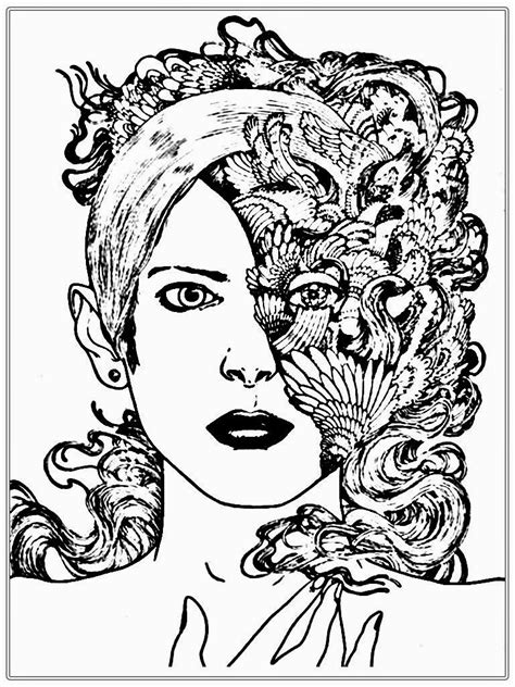 People Free Colouring Pages from theKidzpage