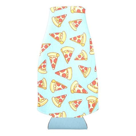 Pepperoni Pizza Slice Drawing Pattern Drink Cooler Zazzle