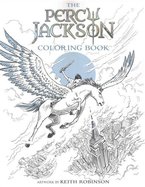 Percy Jackson Coloring Book Paperback Rick Riordan