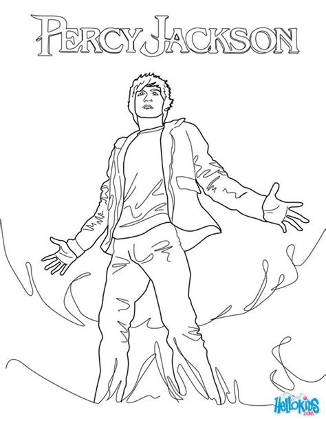 Percy Jackson The Lightning Thief Coloring Pages Ebook