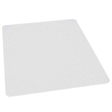 Performance Clear 46 in x 60 in Carpet Vinyl Chair Mat