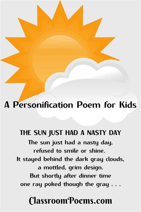 Personification Poems Funny Poems for Free Funny Poems