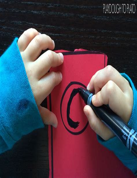 Pete the Cat Glyph Playdough To Plato