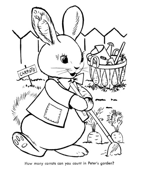 Peter Rabbit coloring pages on Coloring Book info
