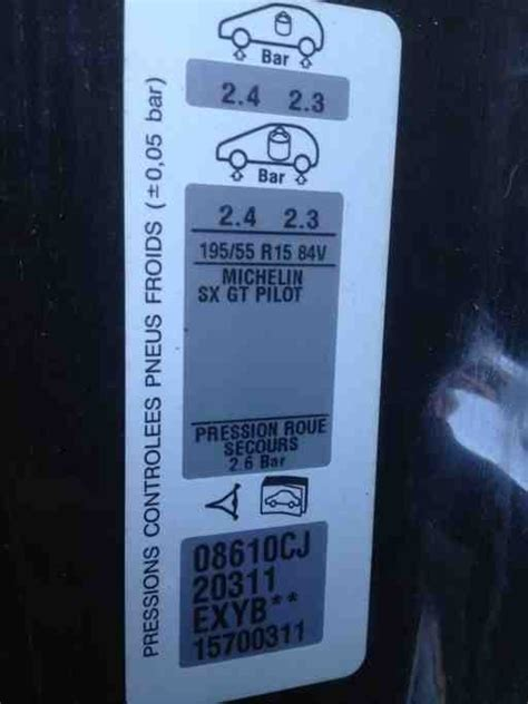 Peugeot Paint Codes from 1997 MY