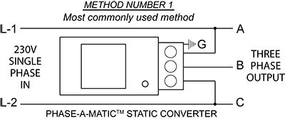 3 phase static converter wiring diagram images phase converter phase a matic static phase converter installation