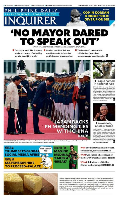 Philippine Daily Inquirer Digital Edition