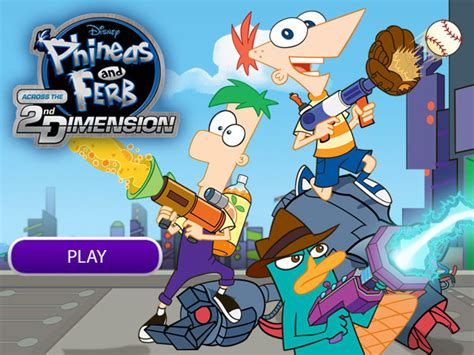 Phineas and Ferb Games Disney XD