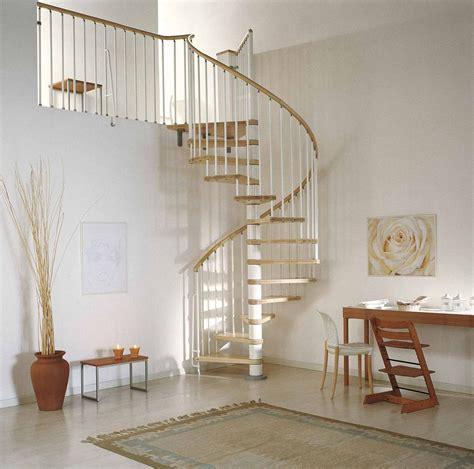 Phoenix Wood Tread Spiral Staircase Kit Metal Steel and