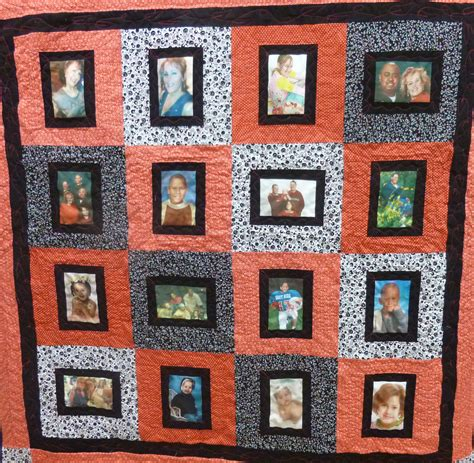Photo Quilt UK Personalised Patchwork Memory Quilts