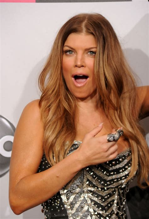 Photos and Pictures Singer Actress Fergie the 2010