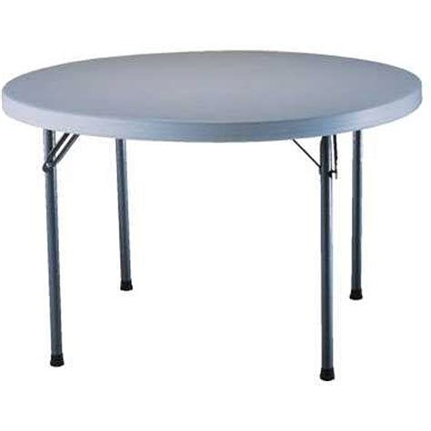 Picnic Tables Lifetime Folding Round and Portable Table