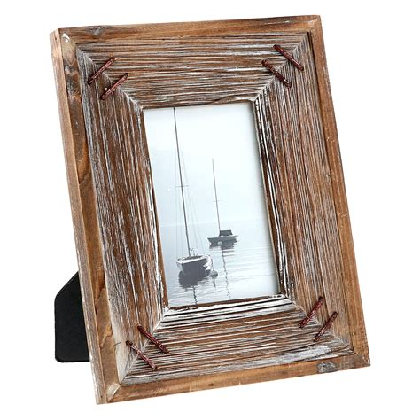 Picture Frames Rustic Barnwood Distressed Wood Iron
