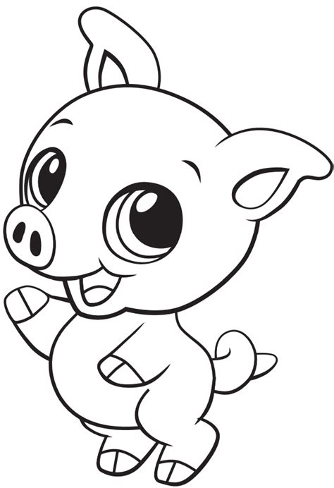 Piglet Coloring Pages GetColoringPages
