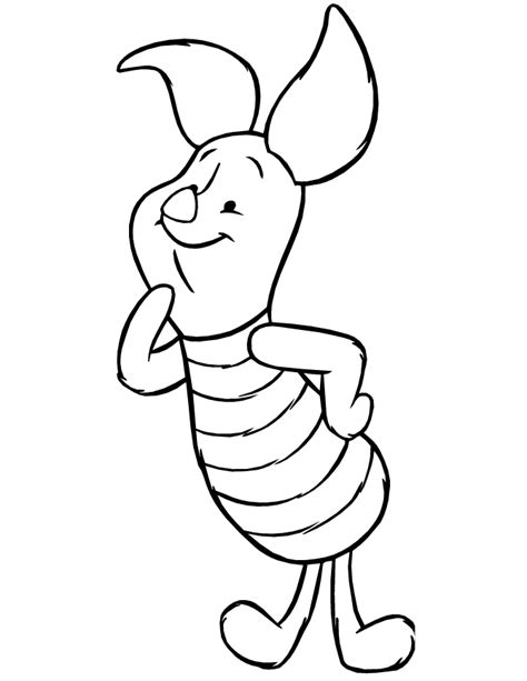 Piglet online coloring page Coloring4all
