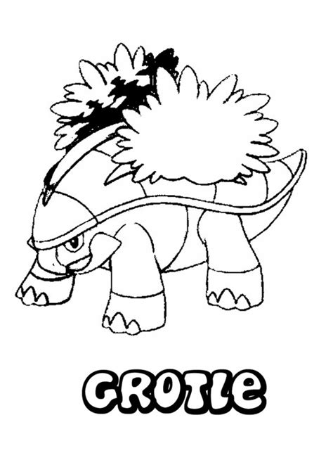 Piplup Coloring pages for kids