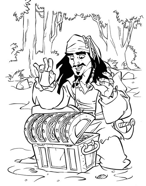 Pirates of the Caribbean coloring pages on Coloring Book info