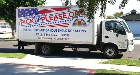 Pittsburgh Donation Pickup Schedule A Truck To Come