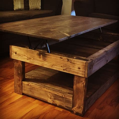 Plans For A Lift Top Coffee Table shedplansdiyez