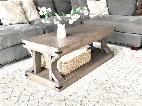 Plans For Coffee Table easyshedplansdiy