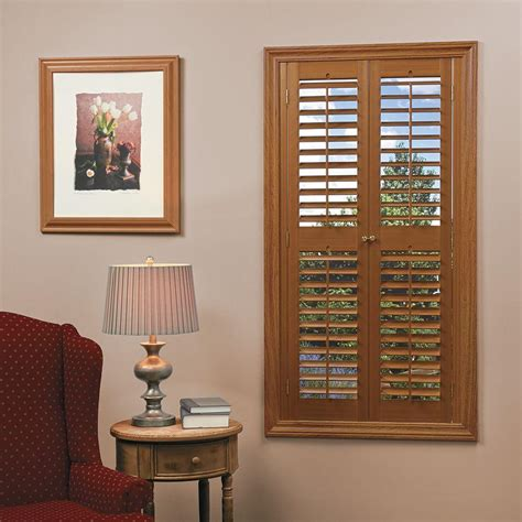 Plantation Shutters for Windows Interior Wooden Blinds