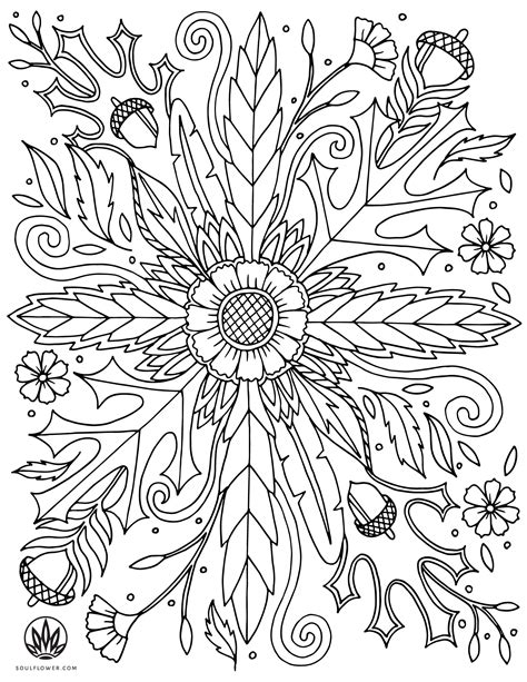 Plants Trees Flowers Free Coloring Pages crayola