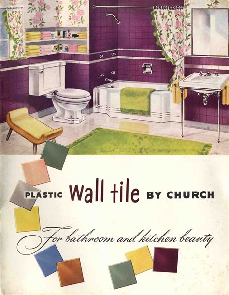 Plastic bathroom tile 20 pages of images from 3 catalogs
