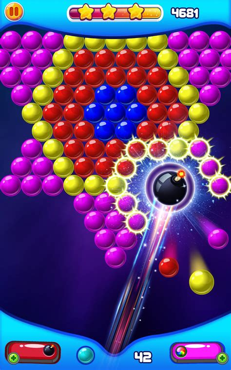 Play BUBBLE SHOOTER 2 a free bubble bobble game online